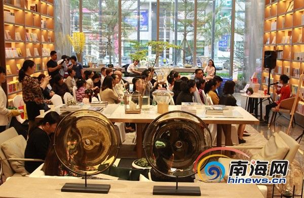海口凤凰华润中心书店开业  名家到场举办读者见面会